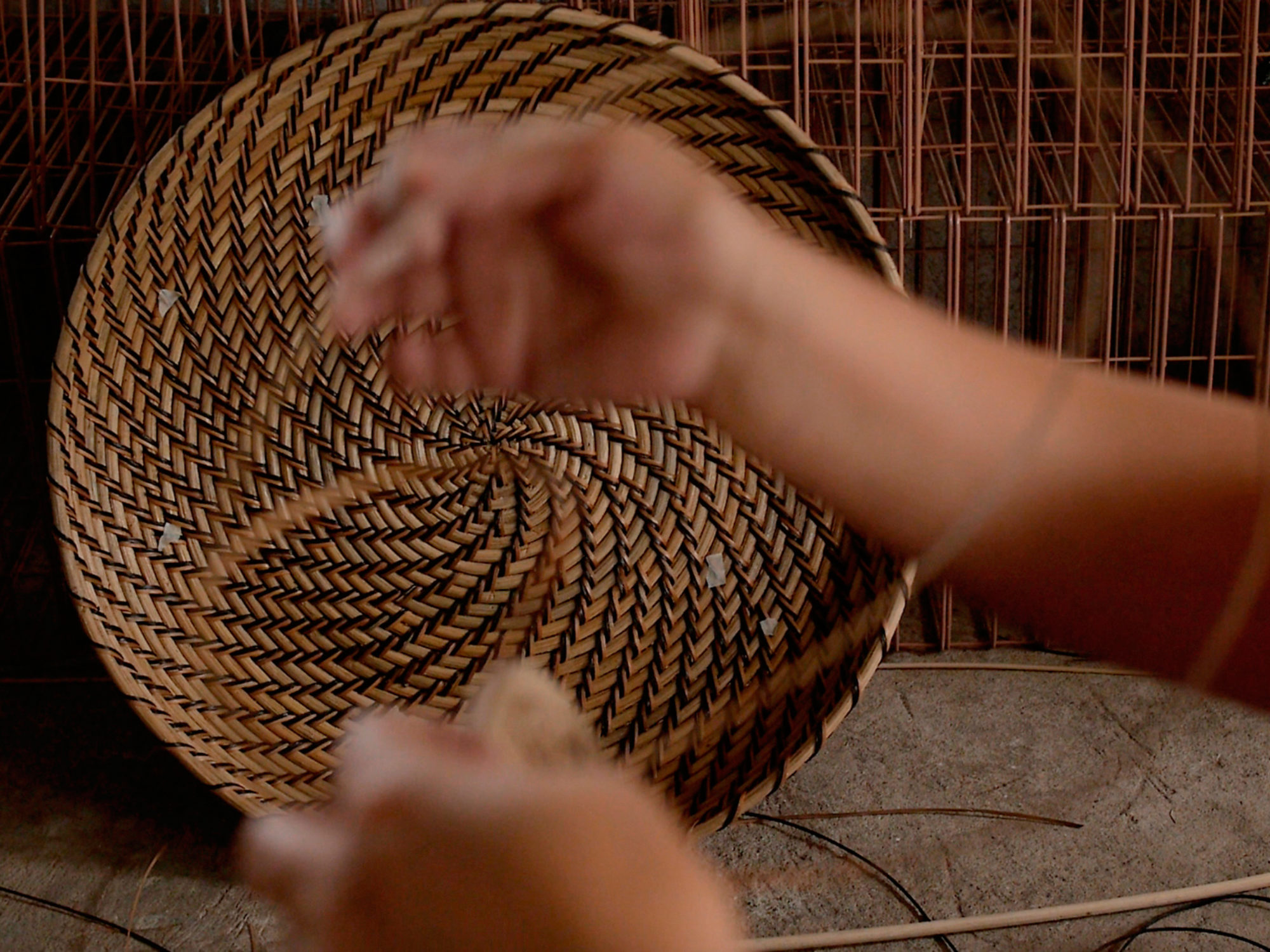 Image result for handicrafts village women bamboo weaving