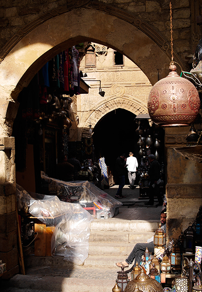 Reflections from the Great Souk of Cairo